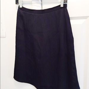 🌵 Brooks Brothers Blue Pleated Skirt Size 6